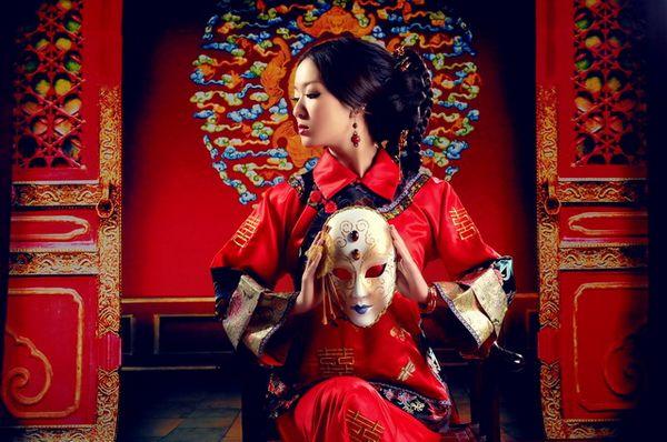 Свадебные платья в японском стиле