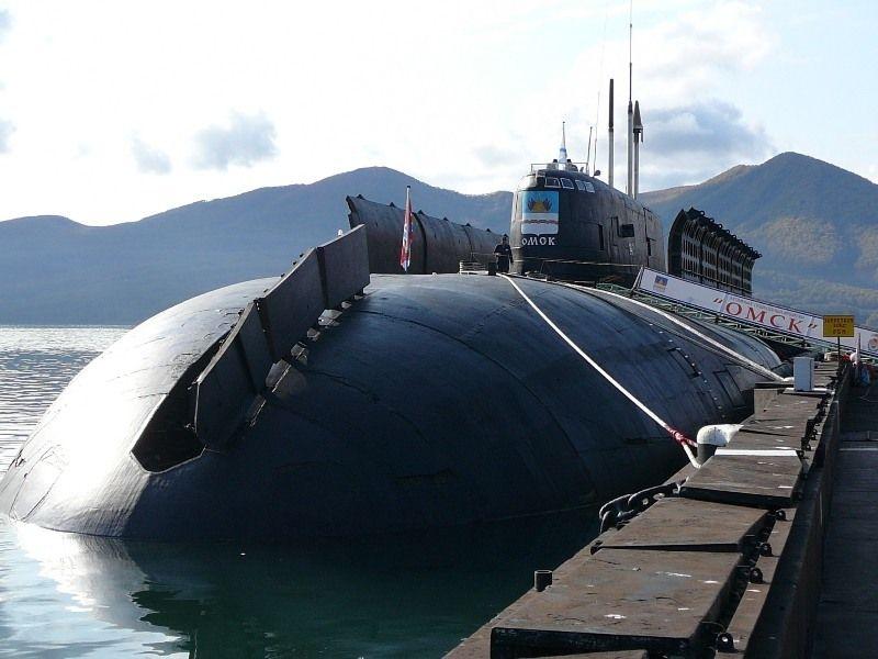 В мире атомная подводная лодка