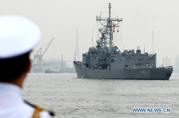 CHINA-SHANGHAI-TURKEY-FRIGATE-VISIT (CN)