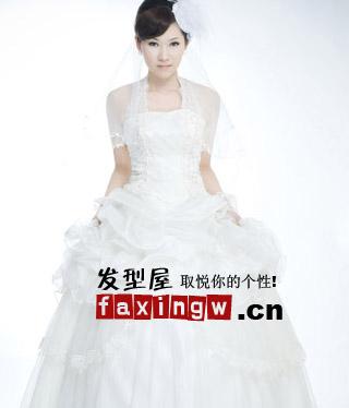时尚中式新娘发型 典雅高贵超日韩-新娘|发型