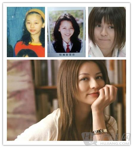 日本人气女星们的美女蜕变史