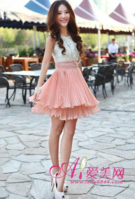 气质连衣裙 纤腿立瘦三公斤