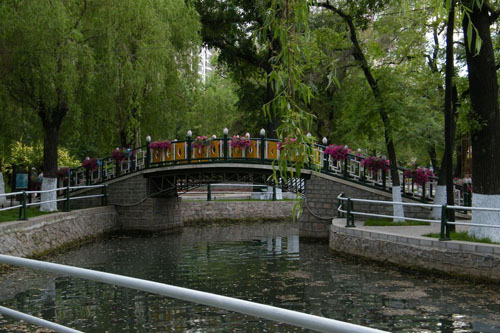 ハルビンの特色ある公园 二 兆麟公园