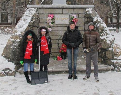 是俄罗斯境内一些按列宁身高原比例建造的纪念碑之一