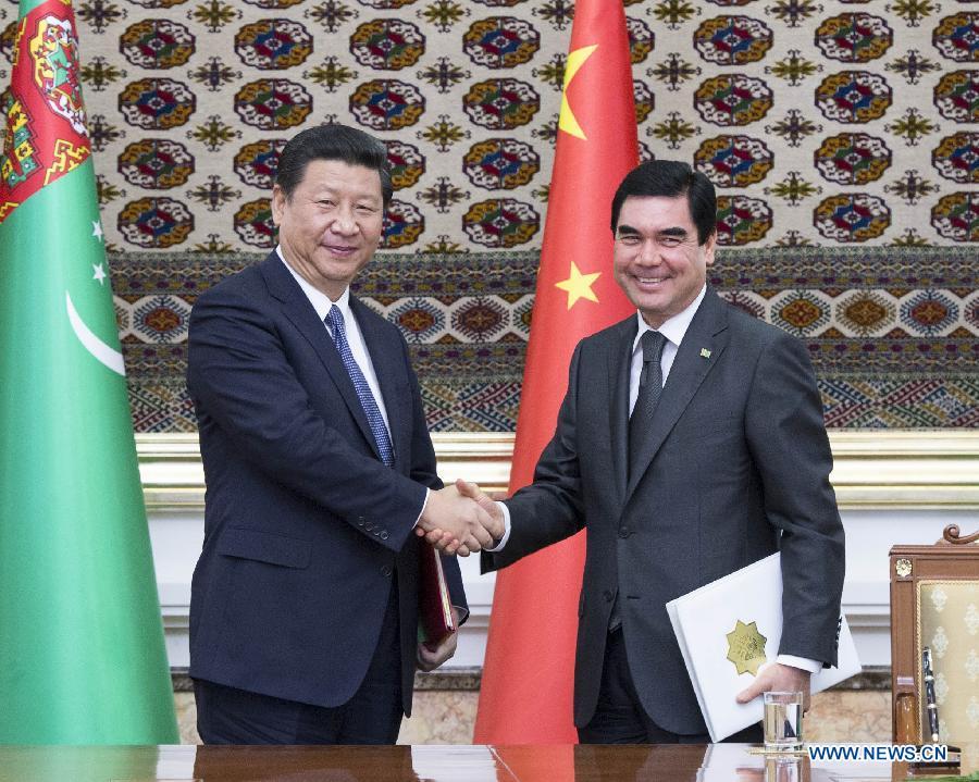 Китай и туркменистан повысили уровень
