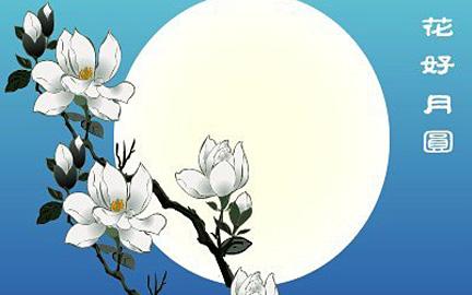 形容月亮的诗句