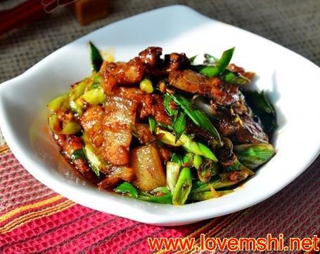 四川家常菜 回锅肉的做法