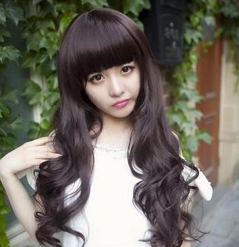 2013流行的卷发发型图片 超萌梨花头塑造精致小脸(图)