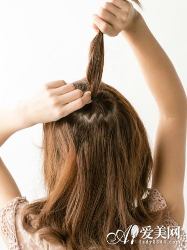 活力半扎发花苞头 打破沉闷发型-花苞头-东北网女性