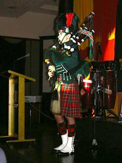浪漫春日 苏格兰竖琴公主唯美开唱