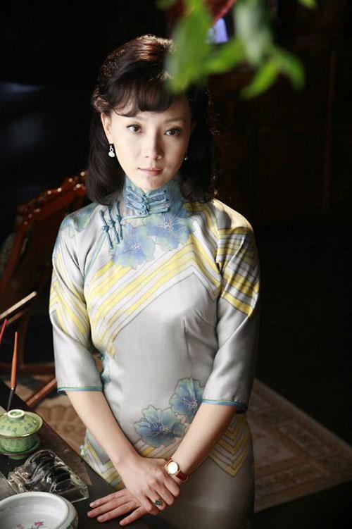 Китайские красивые актрисы ципао 2图片