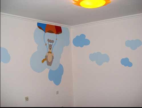 创意无限的墙面涂鸦 脑洞大开设计图片