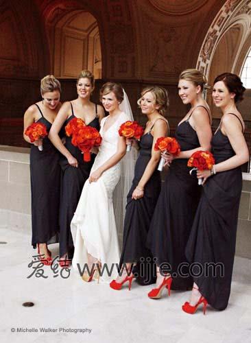 Красивые платья подружки невесты.