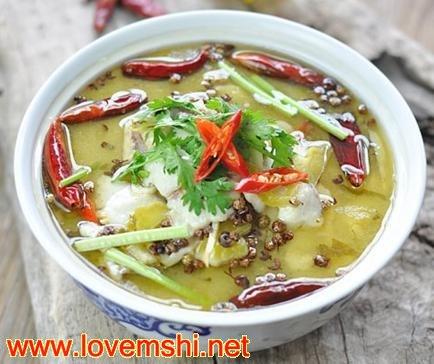 四川家常菜 酸菜鱼的做法