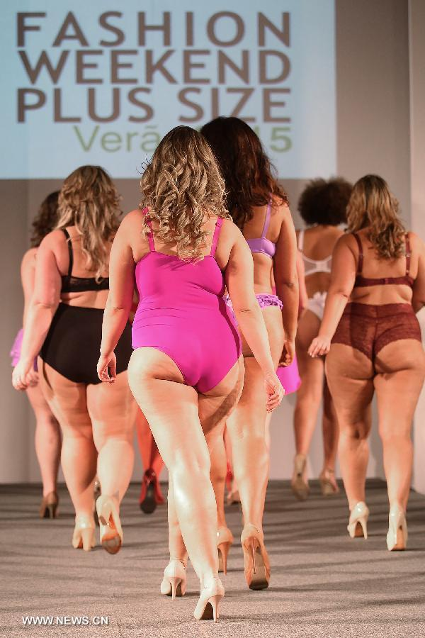 Plus Size Fashion Weekend 2015 kicks off in Brazil ...