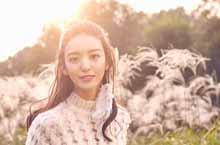 Молодая актриса Ю Цзинжу создает новый образ