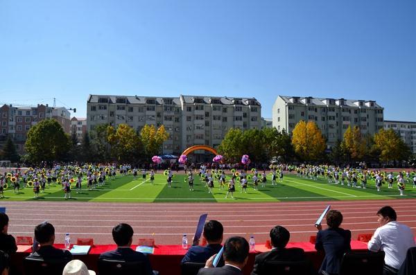 장백현조선족실험소학교 100세 생일 맞았다
